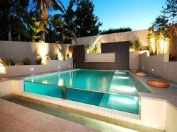 Glass Pool Design