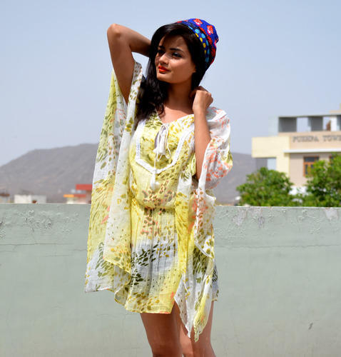 99e74ac871 Flower Print Kaftan Dress at Rs 399 /piece(s) | Printed Kaftan | ID ...
