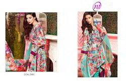 Siya Cotton Printed Suit