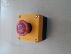 Emergency Stop Push Button Switch with Housing