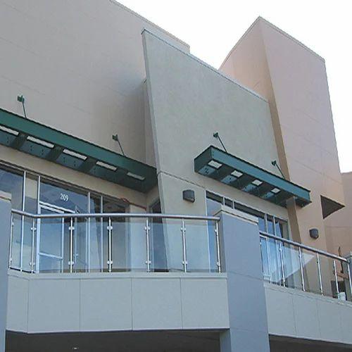 Designer Front Glass Railing
