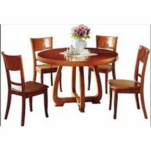 b25b269edb5 Wooden Dining Table Set