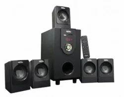 Black Zebronics Zeb-sw6120rucf 5.1 Speaker