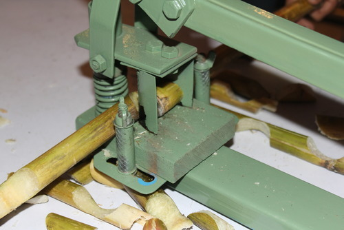 sugarcane bud chipper device