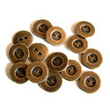 Brown Brass Buttons