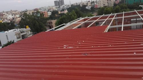 Puf Panel Roofing Sheet Thickness 30mm 50mm Size 1 X 6 Mtr Rs 98 Square Feet Id 10975648348