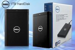 Dell 1TB External HDD (Warranty- 3 Yr)