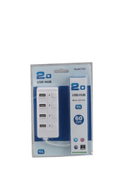 Speed USB 2.0 4 Port Hub with Switch - 480 mbps