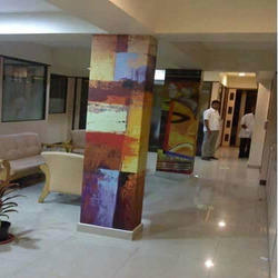 Print Pillar Wall Graphics
