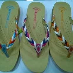 5371177c25c2 Royal Shoe - Manufacturer of Ladies Footwear Upper   Women Flats Heel Sandal  from Mumbai