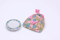 Pottery Pocket Mirror