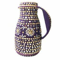 Tea Flask Lac Work
