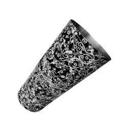 Black Floral Pattern Shaker