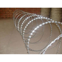 Galvanized Iron Barbed Concertina Wire for Industrial Use