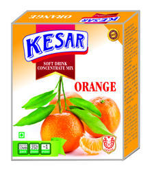 Orange Soft Drink Concentrate, Packaging Size: 100 ML, Packaging Type: Carton
