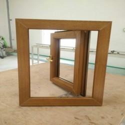 Brown UPVC Casement Window