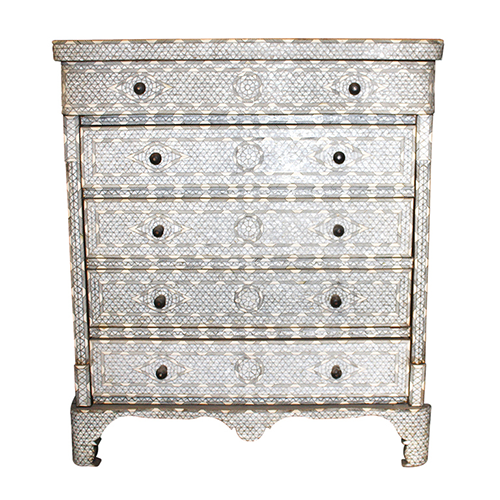 Mother Of Pearl Cabinet
