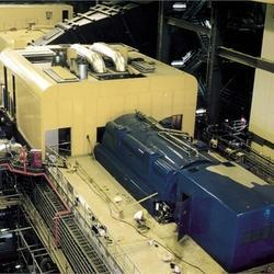 Acoustic Enclosure for Power Plant Gas Turbines