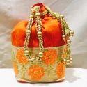 Brocade Gifting Potli Bags
