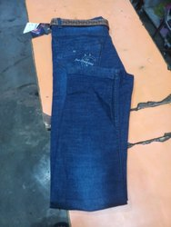 Men Dark Blue Jeans