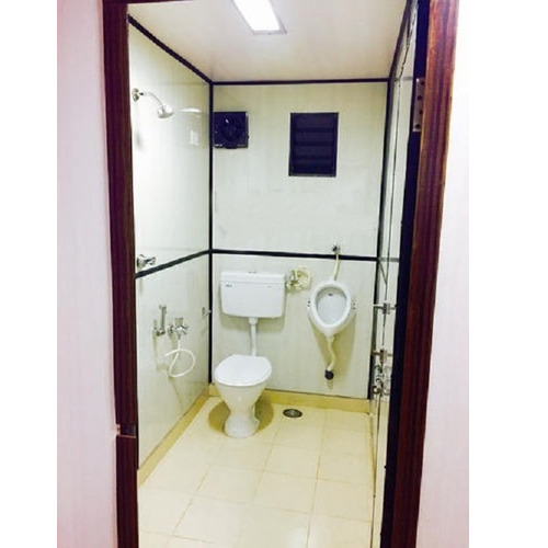 Portable Toilet Shower Cabin G K Fabtech Manufacturer In - Portable bathroom with shower