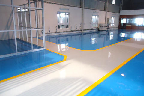 High Chemical Resistant Epoxy Coating Pu Flooring And