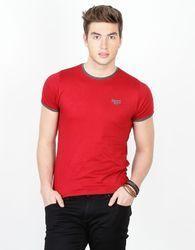 Cotton Plain Casual T Shirts