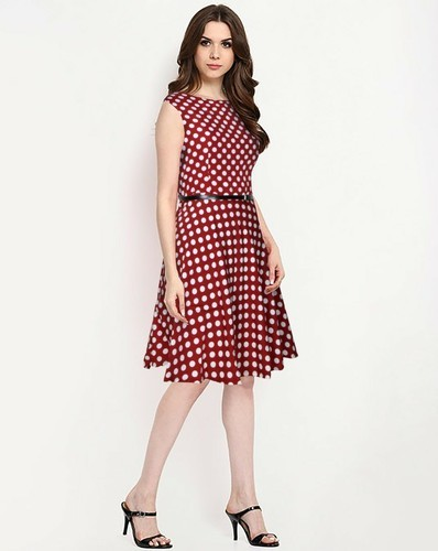 74a1c9924 Red Western Dress For Girl, Packaging Type: Bag, Rs 339 /piece | ID ...