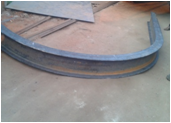 Channel  Beam Rolling Bending Services