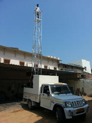 Jeep Mounted Aluminium Tower Ladder