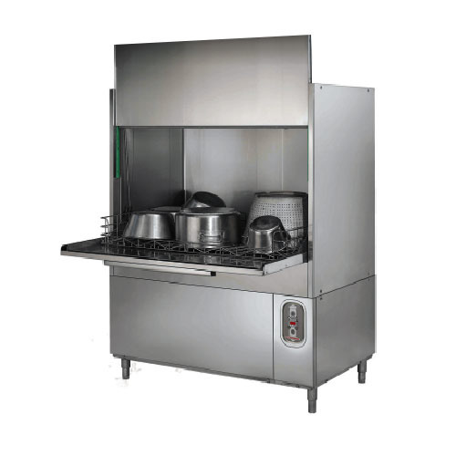 Stainless Steel Built In Commercial Pot And Pan Washer