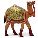 Wooden Camel Walking Wp067