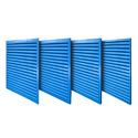 Acoustic Louvres for Generator Room