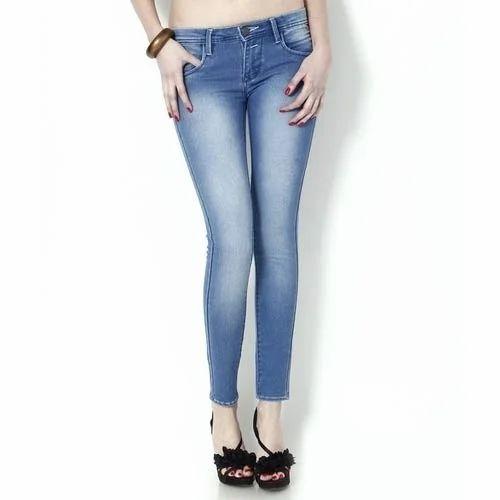 f38faeecb Ladies Ankle Length Jeans, लेडीस ऐंकल लेंथ जीन्स ...