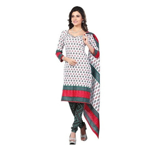 ce24dc32f82c Party Wear Ladies Fancy Printed Unstitched Suit