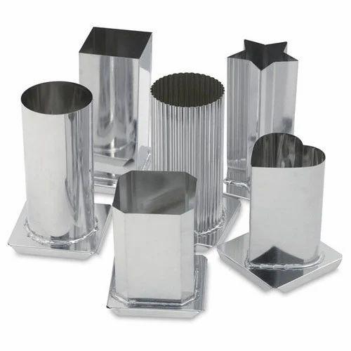 Aluminium candle Molds