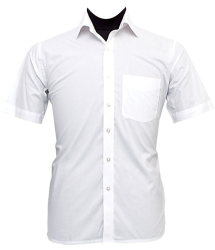 Men's Half Sleeves White Shirt at Rs 180 /piece(s) | White Shirt ...