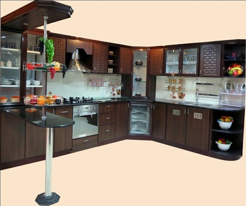 Modular Kitchen Size: Aluminium Modular Kitchen Service