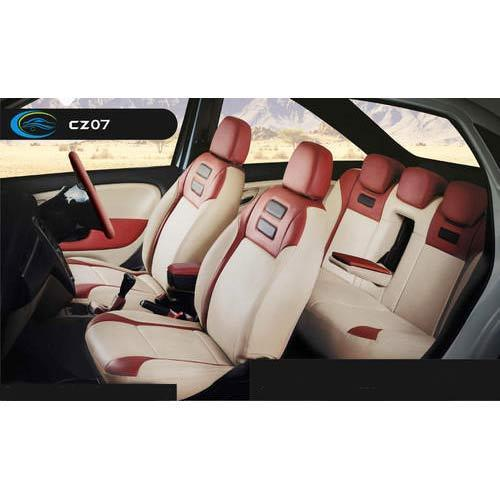 White Brick Red Seat Cover At Rs 2999 Piece Auto Seat Covers Id