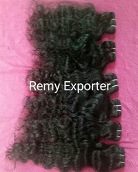 Single Drawn Temple Natural Curly Hair