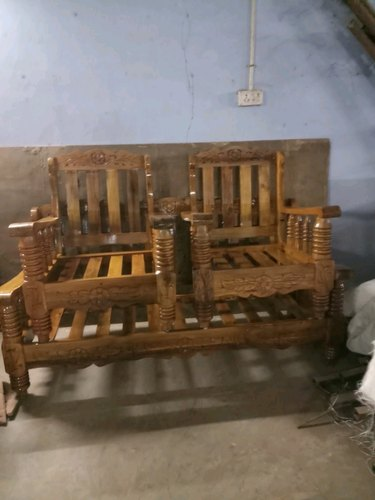 Wooden Bed Headboard Assam Teak Wooden Sofa Frame
