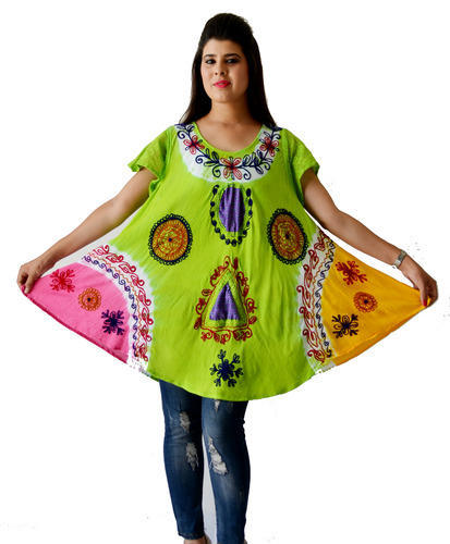 eb470a06bc Printed Short Kaftan Dress, प्रिंटेड काफ्तान ...