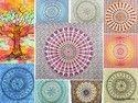 Mandala Tapestry Hippi Throw