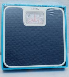 Camry Bathroom Blue Weighing Scale
