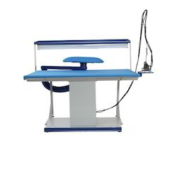 Blue Vacuum Ironing Tables With Buck