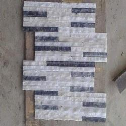 White Black Mosaic Tile