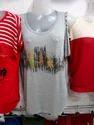 Sleeveless Ladies T Shirt