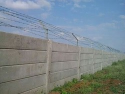 RCC Industrial Fencing Boundary Wall