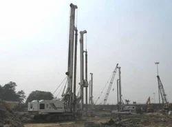 Kolkata Airport Piling Construction Services