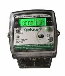 Single Phase LCD Meter